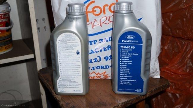 Оригинальное масло в МКПП на Форд Фокус 2 FordService 75W-90 BO