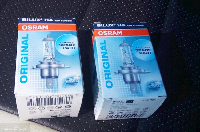 Лампы ближнего света Osram на Шевроле Круз