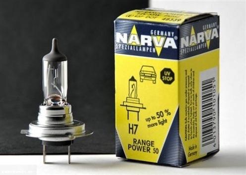 Лампа ближнего света Narva RP50 Range Power 50+