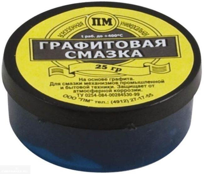 Смазка на основе графита ПМ 25 грамм