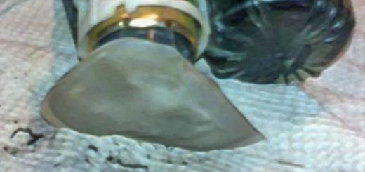 Топливный фильтр грязный на Шевроле Круз