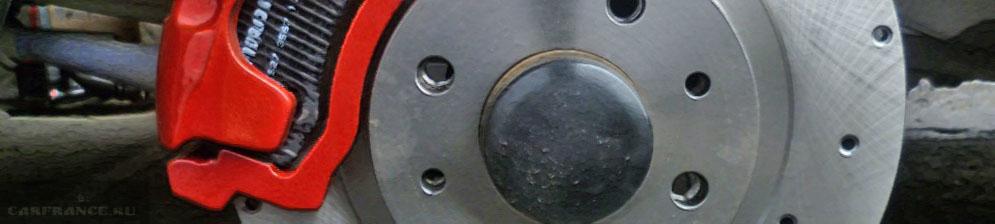 Тормозные диски вблизи