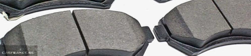 Тормозные колодки различных типов