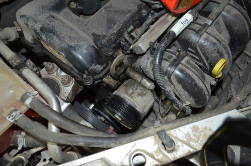 Демонтаж ремня генератора Форд Фокус 2