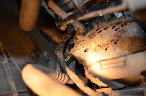 Демонтаж генератора Форд Фокус 2