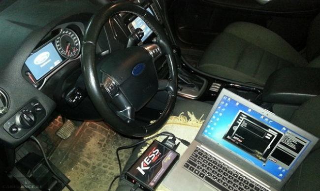 Диагностика ЭБУ Форд Фокус 2