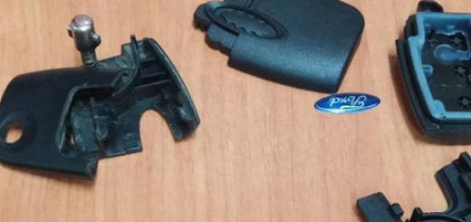 Разобранный ключ зажигания выкидной Форд Фокус 2
