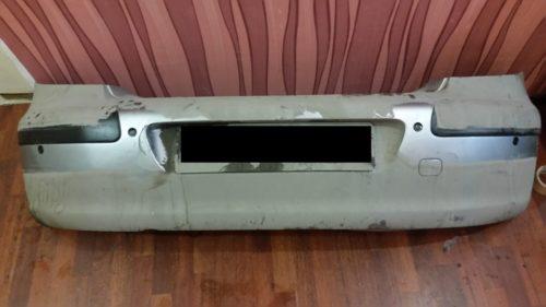 Вариант установки заднего парктроника на Пежо 307 бампер снят