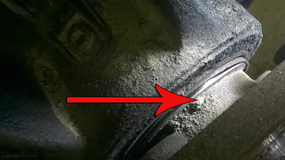 Замена подшипника передней ступицы Форд Фокус 2 - полная ...