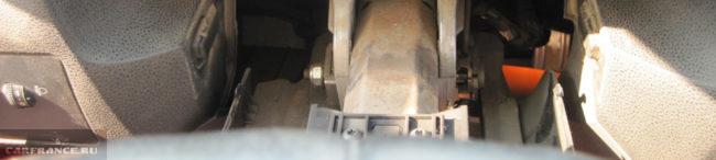 Рулевое колесо Форд Фокус 2 без защёлок