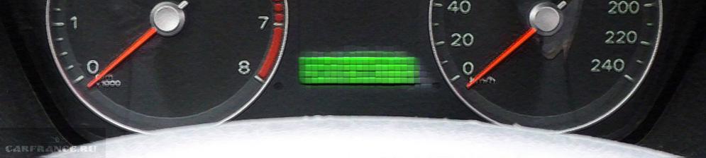 Спидометр Форд Фокус 2 вблизи
