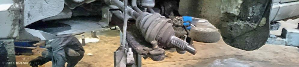 Замена подшипника ступицы колеса на Форд Фокус 2