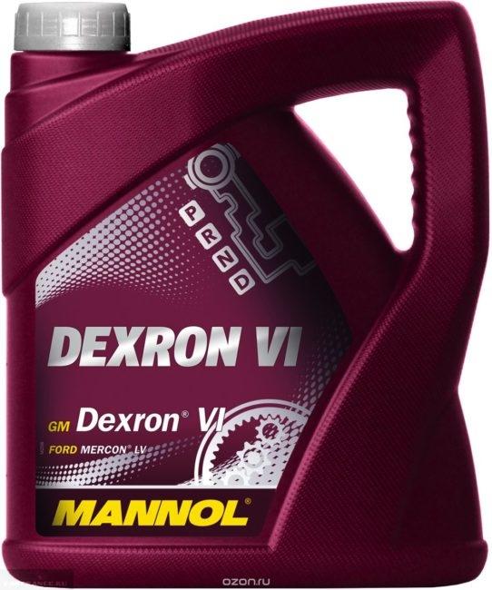 Трансмиссионное масло MANNOL ATF Dexron VI Форд Фокус 2