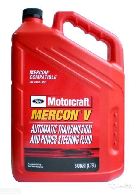 Масло для коробки передач Motorcraft Mercon XT-10Q-LVC Форд Фокус 2