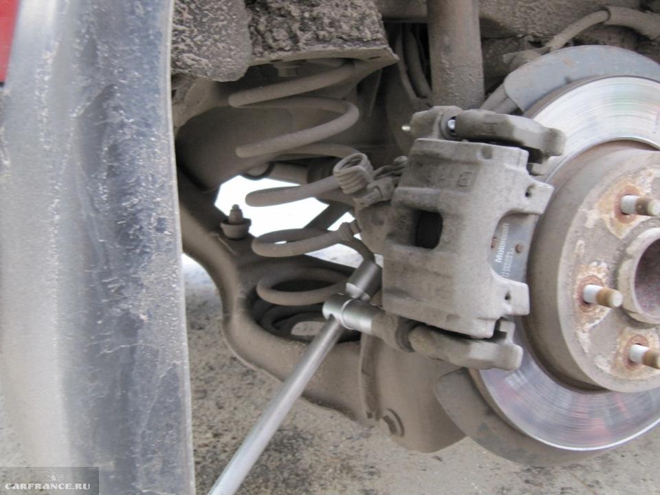 Усиление заднего моста и установка А-образного рычага