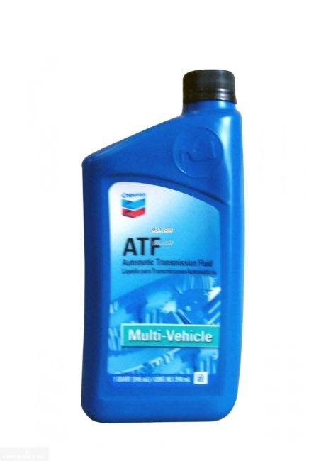Универсальное трансмиссионное масло Chevron ATF Multi-Vehicle Форд Фокус 2
