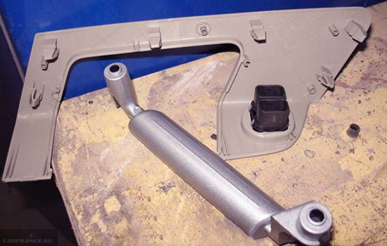 Демонтаж ручки двери Форд Фьюжн