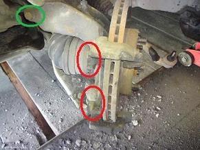 Демонтаж крепежных элементов подвески Форд Фьюжн