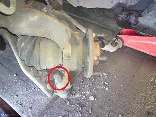 Демонтаж шаровой опоры Форд Фьюжн