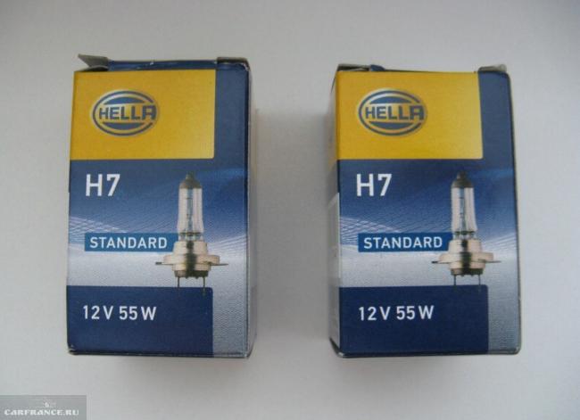 лампа ближнего света Hella H7 для форд фокус 2