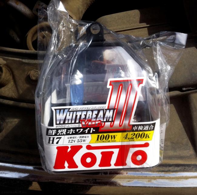 лампа ближнего света Koito WhiteBeam H7 для форд фокус 2