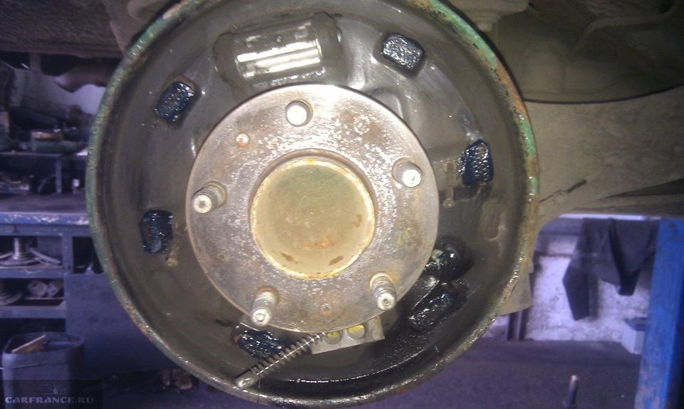 Замена тормозных колодок форд фокус 2 задних 43