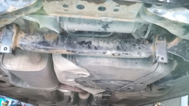 Задний рычаг без стабилизатора на Форд Фокус 2