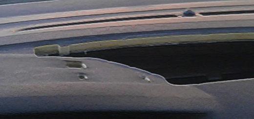 Снятый верхний бардачок на торпедо Форд Фокус 2
