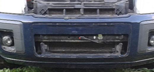 Демонтаж решётки радиатора при снятии бампера на Форд Фьюжн