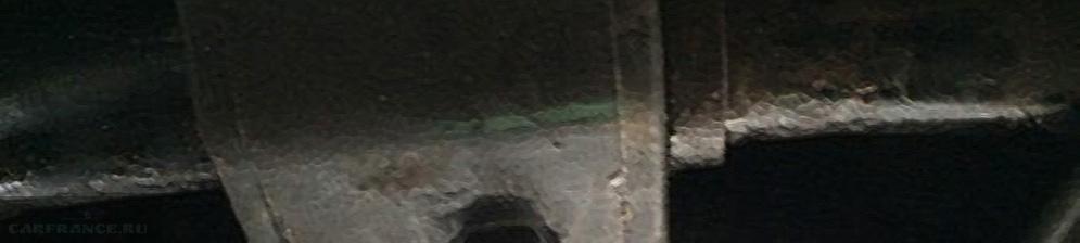 Втулка стабилизатора Тойота Королла вблизи заменена