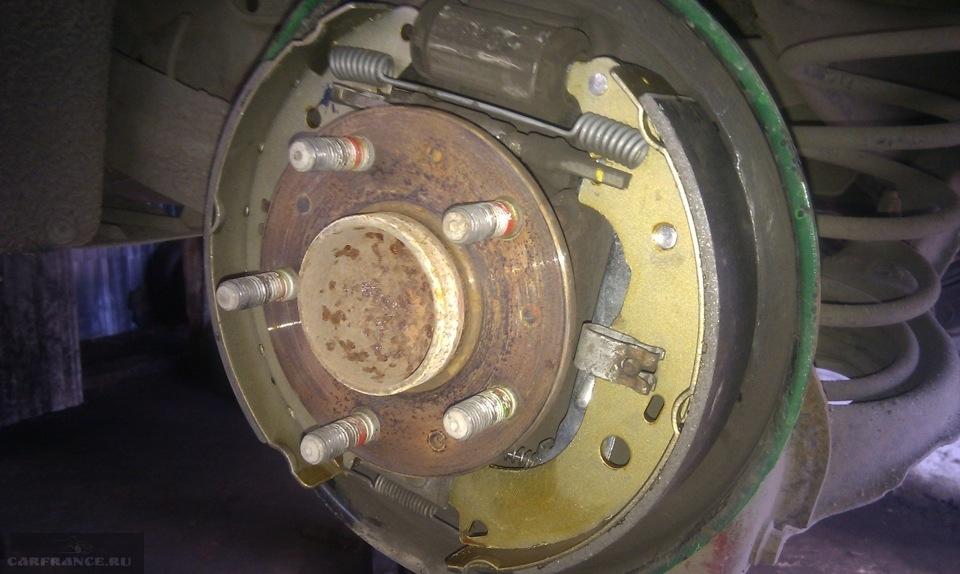Замена тормозных колодок форд фокус 2 задних 191