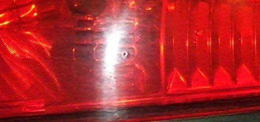 Задний фонарь Форд Фьюжн вблизи