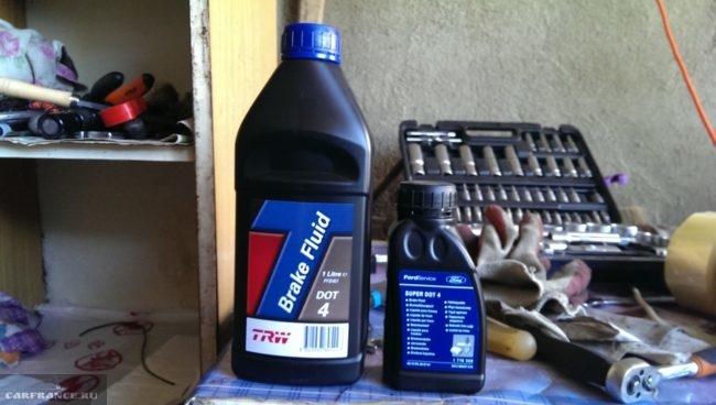 Аналог тормозной жидкости на Форд Фокус 2