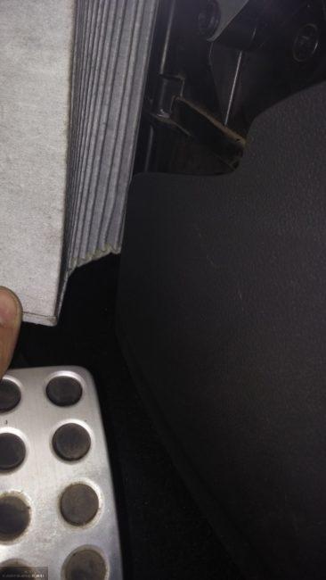 Демонтаж салонного фильтра Форд Фокус 2