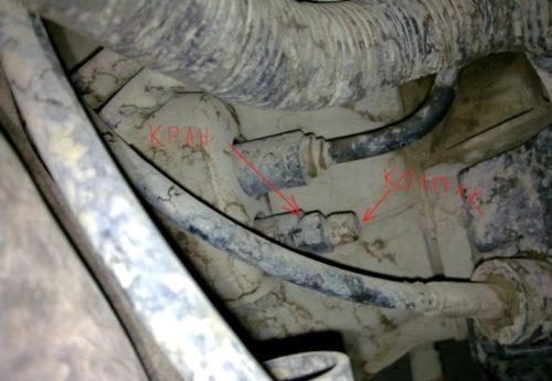 Краник и колпачек нипеля главного цилиндра сцепления форд фокус 2