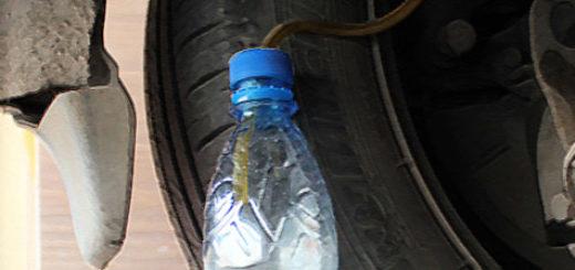 Замена старой тормозной жидкости на Форд Фокус 2 заднее колесо