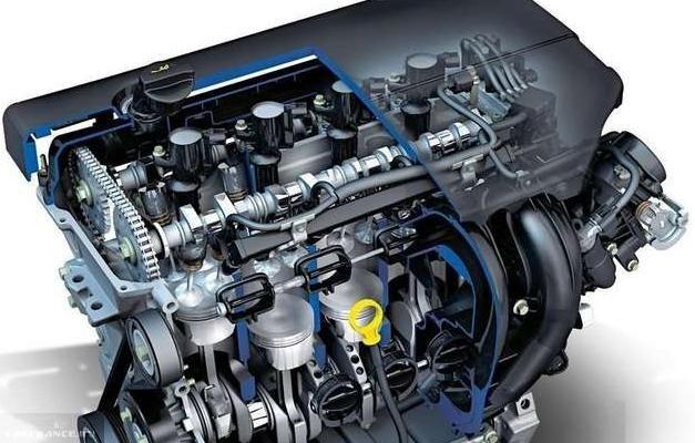 Бензиновый двигатель с цепной передачей для Форд Фокус 2