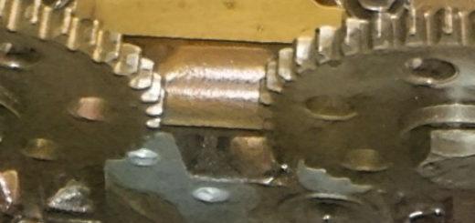 Механизм цепи ГРМ на двигателе Форд Фокус 2 1,8 объём