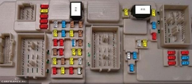 Блок предохранителей версия рестайл Форд Фокус 2