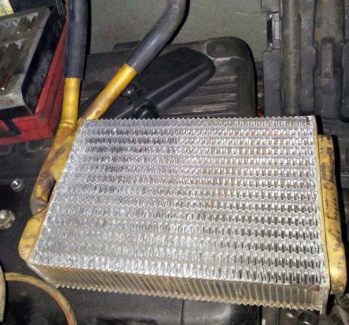 Медный радиатор отопителя для автомобиля Дэу Нексия