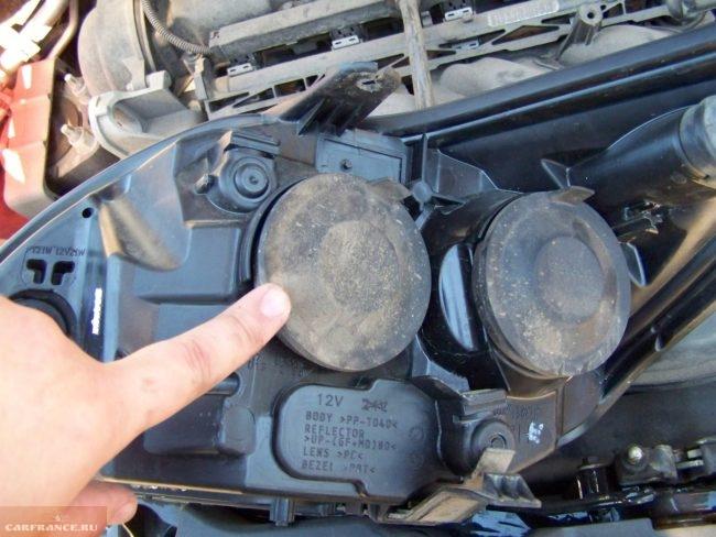 Задние крышки фары нового поколения Форд Фокус 2