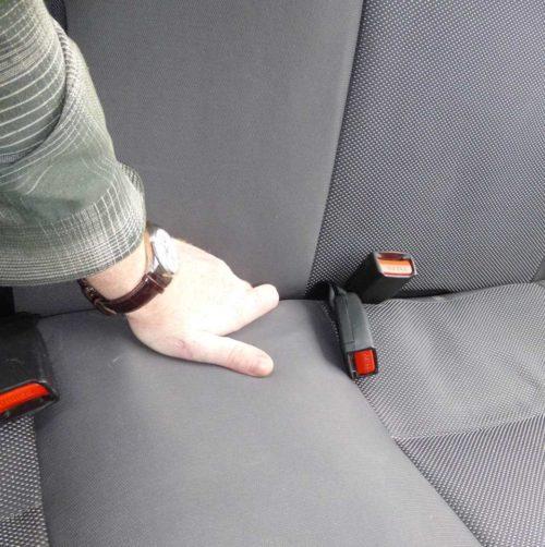 Подушка заднего сиденья на автомобиле Дэу Нексия