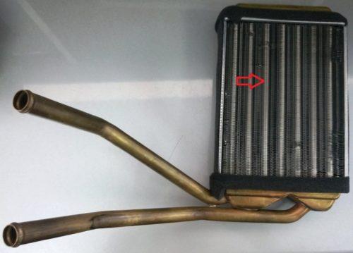 Посредственный радиатор печки автомобиля Дэу Нексия