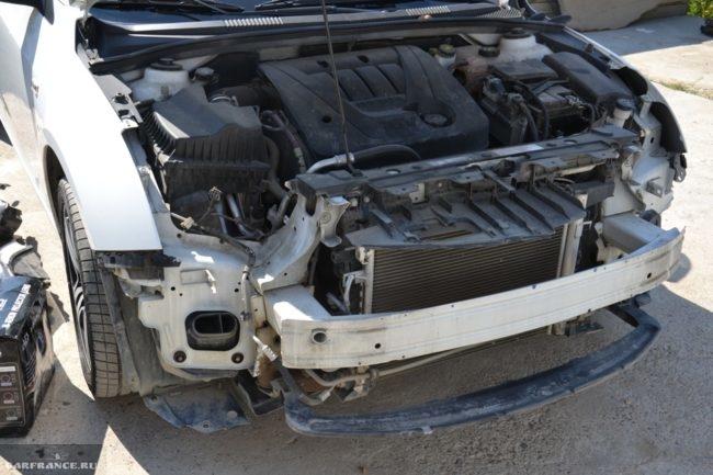 Результат демонтажа фар на авто Шевроле Круз