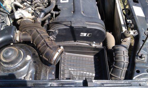 Снятие воздушного фильтра на автомобиле Дэу Нексия