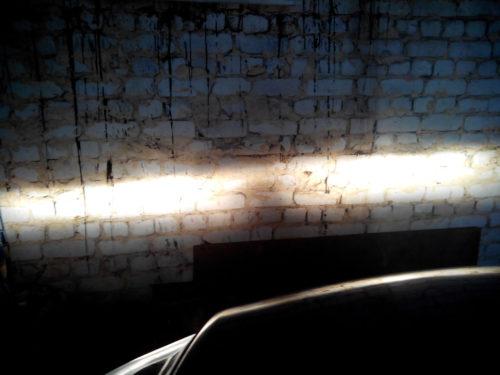 Првильный свет от фар автомобиля Форд Фокус 2
