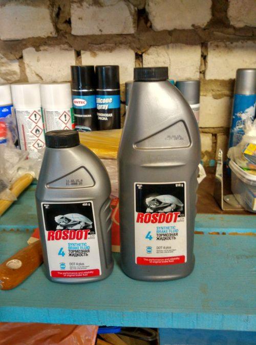 Тормозная жидкость российского производства для Форд Фокус 2