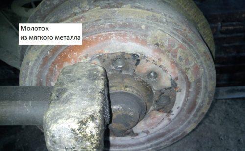 Тормозной барабан задних колес на Дэу Нексия