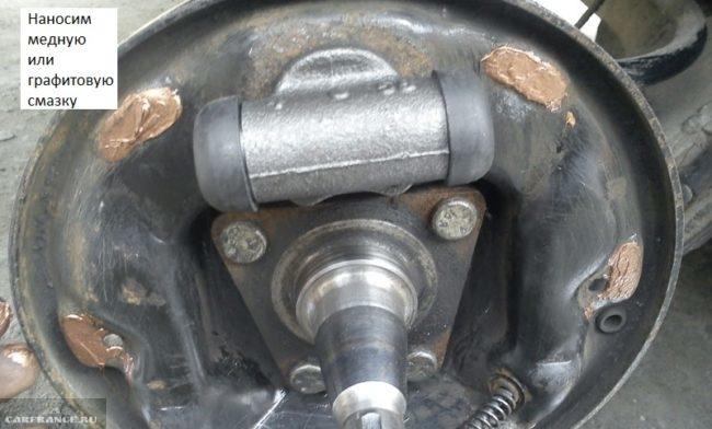 Опорный диск задних тормозов Дэу Нексия