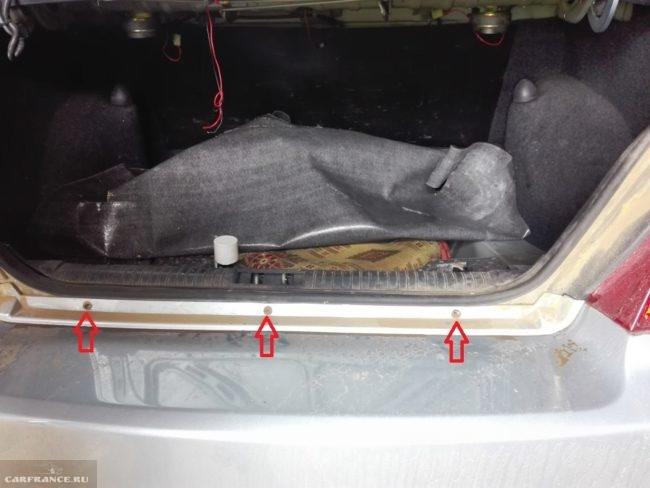 Открытый багажник Дэу Нексия